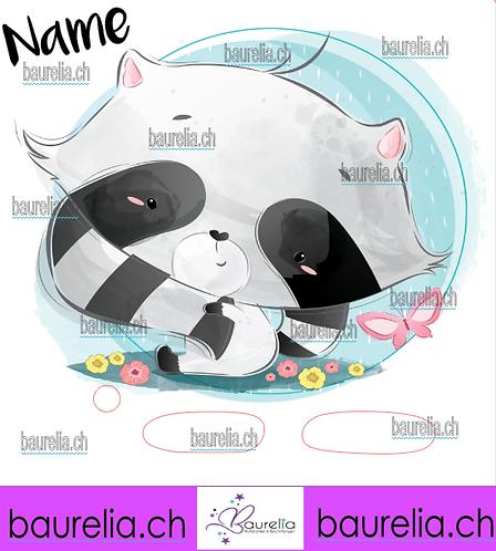 Schutzfolie Toniebox Waschbär 8