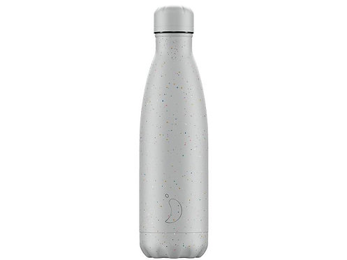 Chilly's 500ml Trinkflasche Speckled Grau