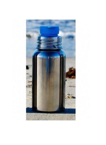 Pura Sportflasche 550ml Silber ohne Überzug