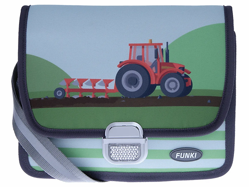 Funky Kindergartentasche Traktor