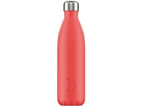 Chilly's 750ml Trinkflasche Pastell Coral