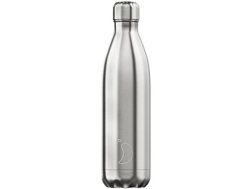 Chilly's 750ml Trinkflasche Chrome Silber