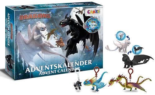 CRAZE Adventskalender Dragons