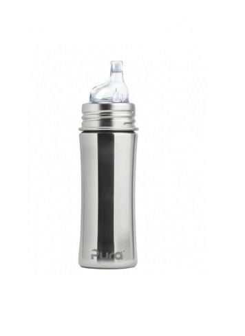Pura Trinklernflasche 325ml Silber ohne Überzug