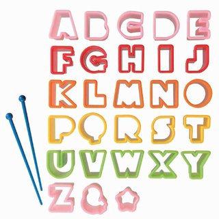 Ausstechformen ABC