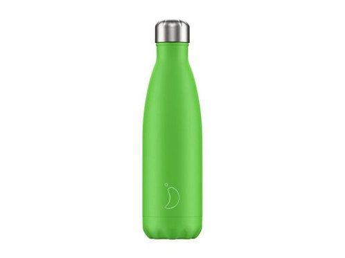 Chilly's 500ml Trinkflasche Neon Grün