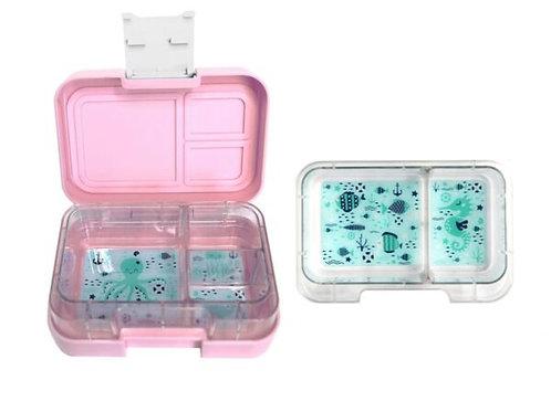 Znünibox rosa, Znünibox kaufen, Znünibox personalisiert, Munchi Snack rosa, Munchi SNack kaufen, Lunchbox kaufen,
