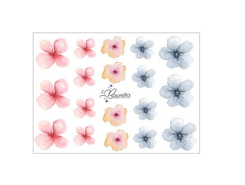 Stickerbogen Blume 1
