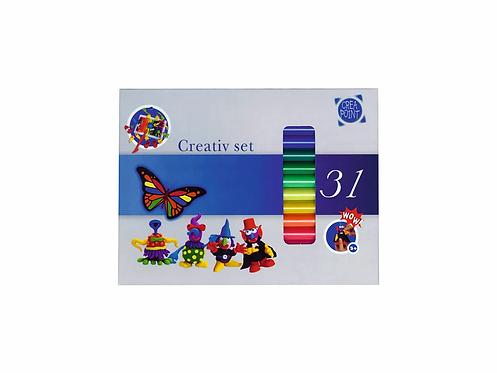 CREA-POINT Knete Creativ-Set