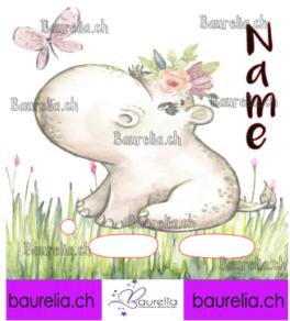 Schutzfolie Toniebox Nilpferd 1