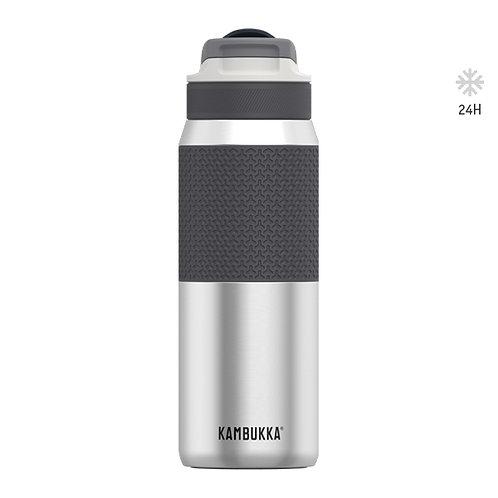 Kambukka Thermotrinkflasche 750 ml Silber