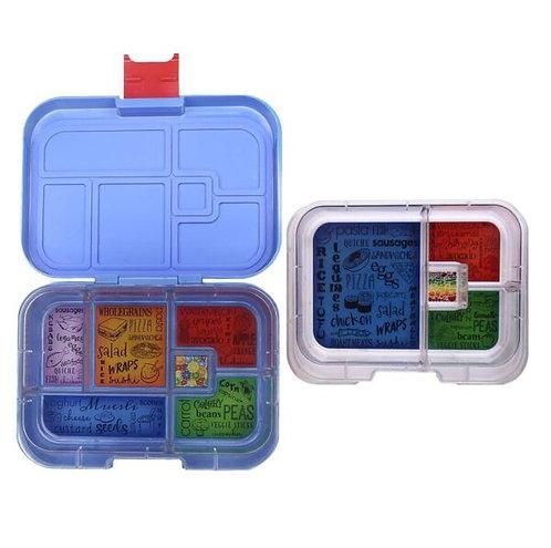 Munchbox Set Hero mit 4 & 6 Unterteilungen