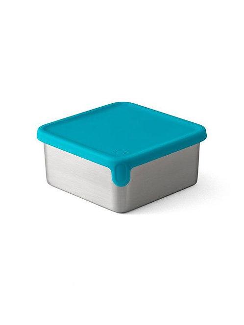 PlanetBox Big Square Dipper mit Silikondeckel Teal