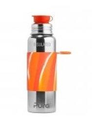 Pura Sport Isolierflasche 650ml OrangeSwirl