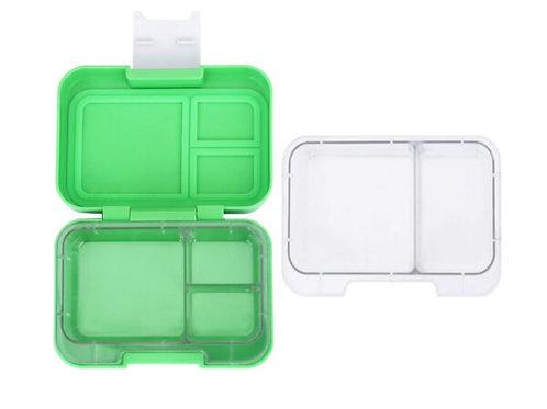 Munchi Snack grün, Znünibox grün, Lunchbox grün, Znünibox personalisiert, Lunchbox personalisiert, Kinder Znünibox, grün