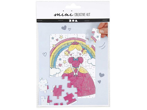 Bastelset Puzzle Prinzessin