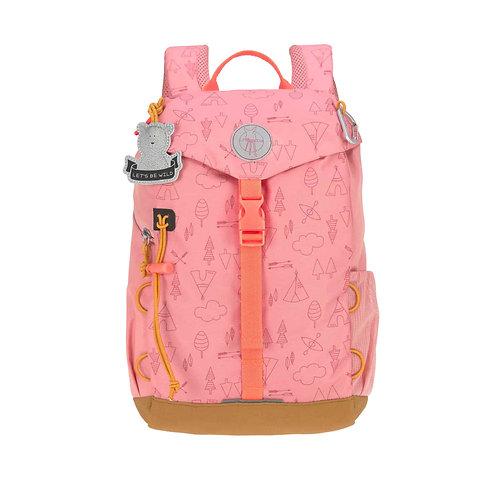 Lässig Kindergartenrucksack BIG Outdoor - Mini Backpack, Adventure Rosa