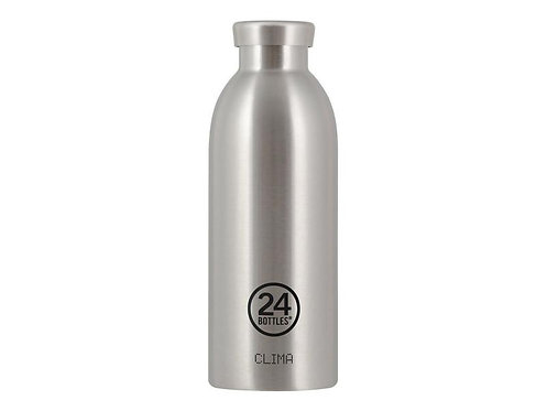 24Bottles Thermosflasche Clima 500 ml Steel