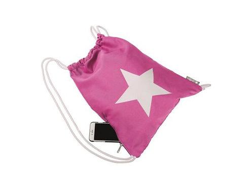 Turnbeutel Stern Pink