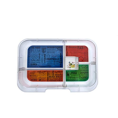 Munchbox Inlay mit 5 Unterteilungen
