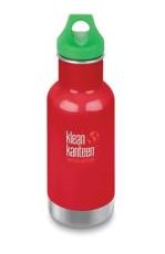 Klean Kanteen Kid Thermotrinkflasche 355ml Rot