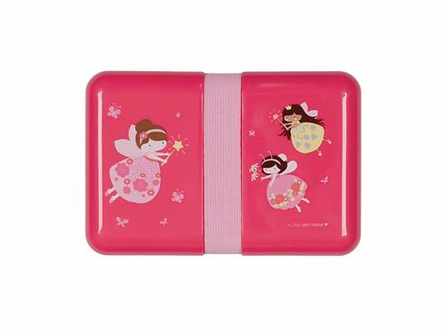 Lunchbox leicht, Znünibox leicht, pink, Fee, Mädchen, Znünibox kaufen, Znünibox personalisiert, Lunchbox kaufen