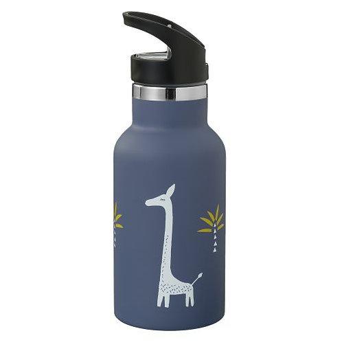 Thermoflasche, Thermoflasche Kinder, Thermotrinkflasche, personalisiert, Eisbär, Fresk, Thermoflasche kaufen,Giraffe,Blau