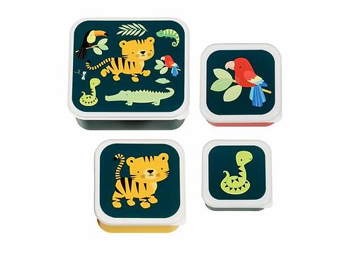 ALLC Lunchbox Dschungel 4er Set
