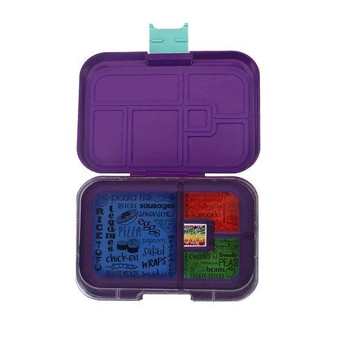 Znünibox violett, Znünibox Arbeit, Znünibox Ausflug, Znünibox Schule, Lunchbox kaufen, Znünibox kaufen, personalisiert