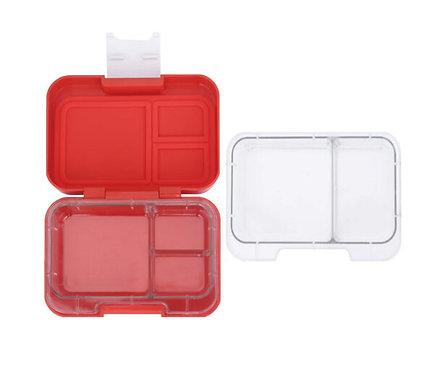 Znünibox rot, Lunhbox rot, Munchi Snack rot, Znünibox personalisiert, Znünibox beschriftet, Kinder,auslaufsicher