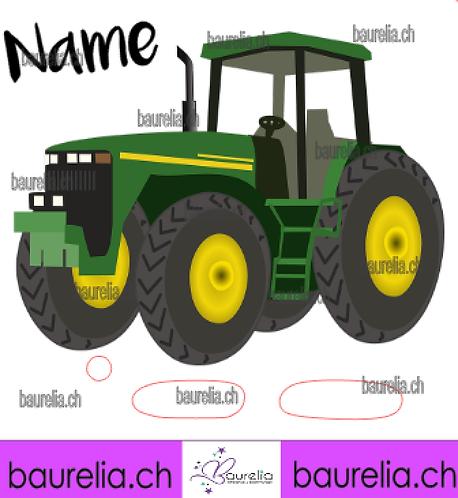 Schutzfolie Toniebox Traktor 8