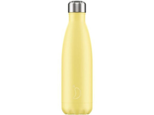 Chilly's 500ml Trinkflasche Pastell Gelb