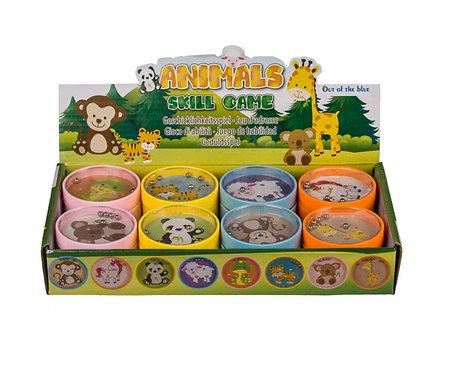 Geschicklichkeitsspiel Tiere assortiert