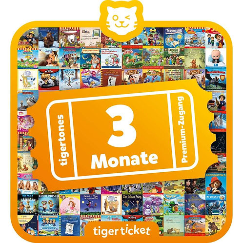 tigerticket 3 Monate Swiss Edition