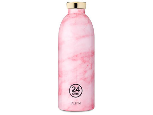 24Bottles Thermosflasche Clima 850ml Pink Marble