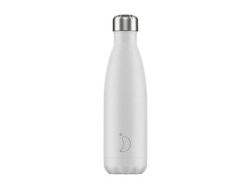 Chilly's 500ml Trinkflasche Monochrome Weiss