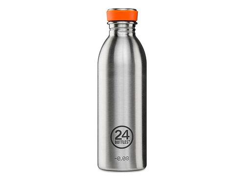 24Bottles Trinkflasche Urban 500 ml Steel