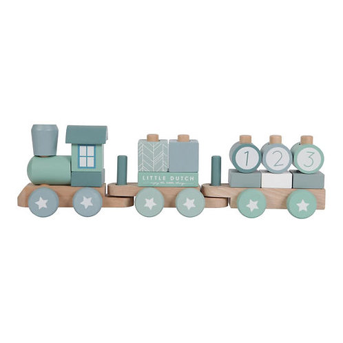 Eisenbahn Little Dutch, Zug Little Dutch, Little Dutch Holz Zug, Little Dutch personalisiert, Lokomotive Little Dutch