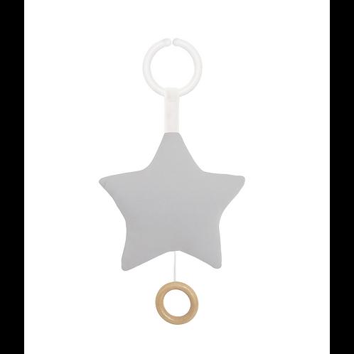 JABADABADO Spieluhr Stern Grau