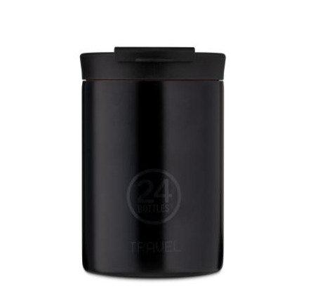 24Bottles Thermobecher Travel Tumbler 350 ml Tuxedo Black