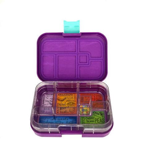 Munchbox mit 6 Unterteilungen Violett