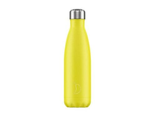 Chilly's 500ml Trinkflasche Neon Gelb