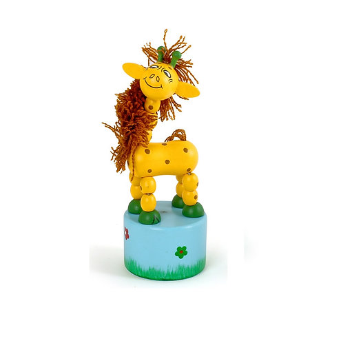 Drückfigur Giraffe