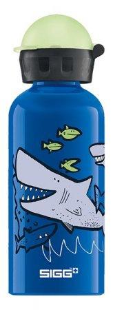 Sigg Aluminumflasche Kids KBT Sharkies 0.4l