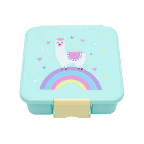 Little Lunch Box kaufen, Little Lunch Box personalisiert, Znünibox leicht, Lunchbox leicht, Znünibox personalisiert,mint,lama