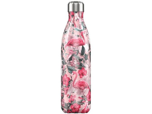 Chilly's 750ml Trinkflasche Tropical Flamingo