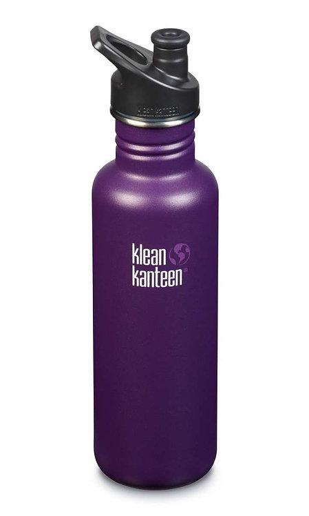 Klean Kanteen Classic Sport 800ml Winter Plum -Violett