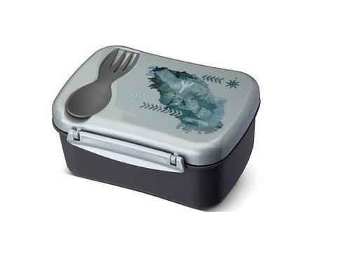 Lunchbox grau, Znünibox grau, Znünibox Kindergarten, Znünibox Schule, Znünibox kaufen, Lunchbox kaufen,