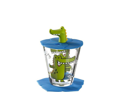 Leonardo Trinkglas für Kinder Krokodil