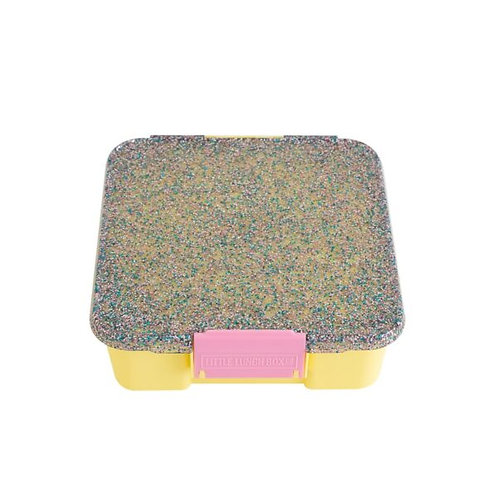 Little Lunch Box Co. – Glitzer Gelb mit 5 Unterteilungen
